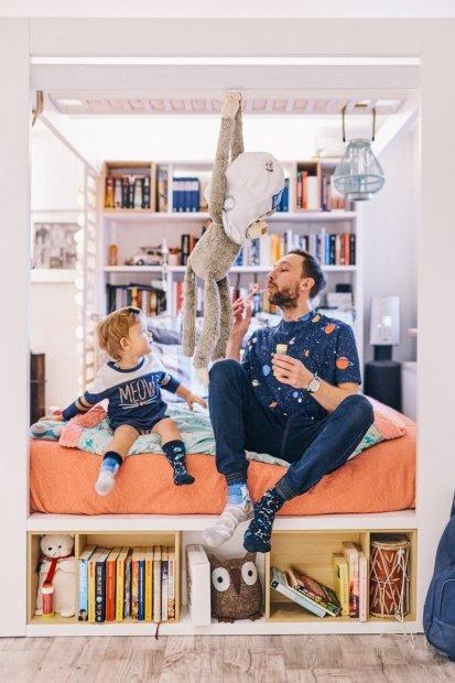 Space Trip - Ponožky Pro Děti - Many Mornings