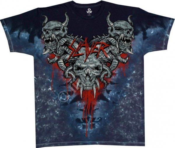 Slayer Hell Awaits - Liquid Blue