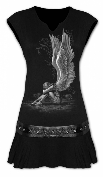Enslaved Angel - Mini Šaty Spiral