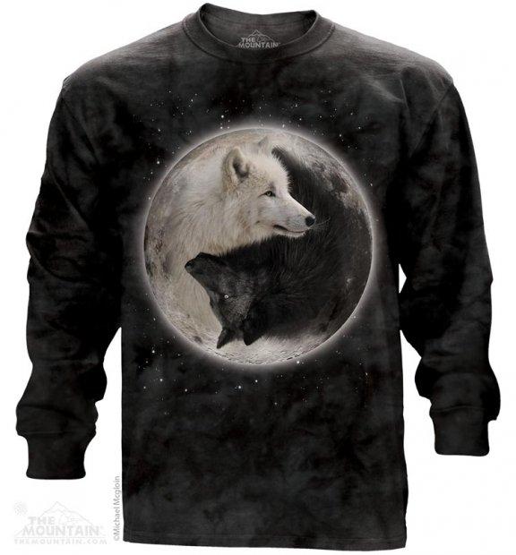 Yin Yang Wolves - Long Sleeve The Mountain
