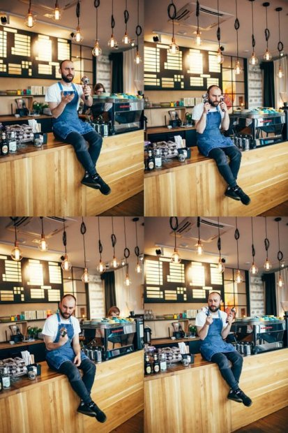 Dark Espresso - Ponožky - Many Mornings