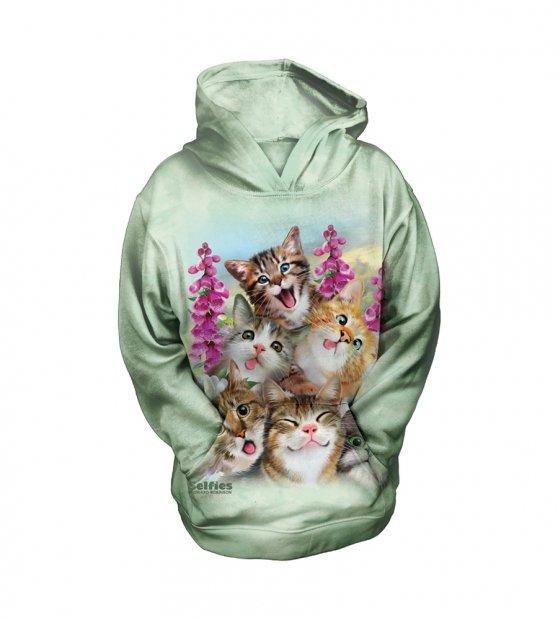 Kittens Selfie - The Mountain - Mikina Junior