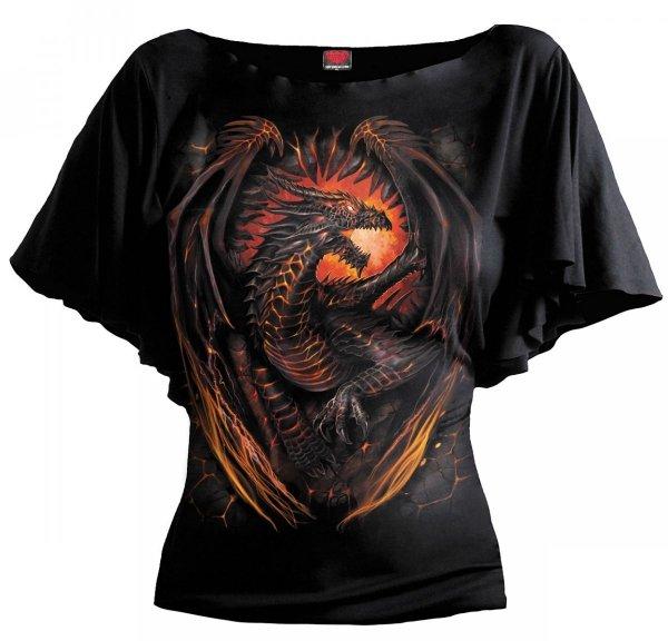 Dragon Furnace Bat - Spiral – Ladies