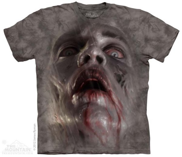 Zombie Face - T-shirt The Mountain