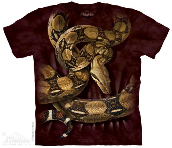 Boa Constrictor - T-shirt The Mountain