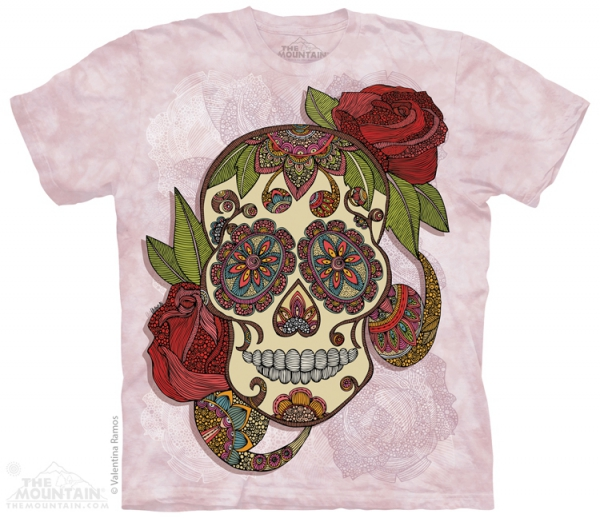 Paisley Sugar Skull  - The Mountain