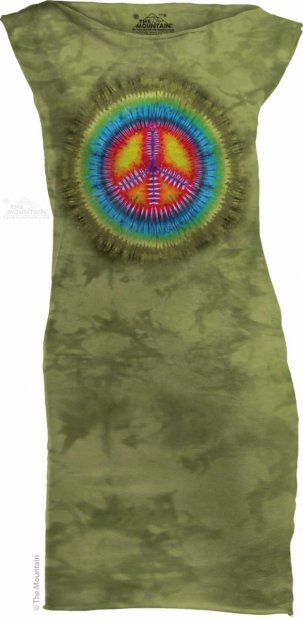Peace Tie Dye - Sukienka The Mountain