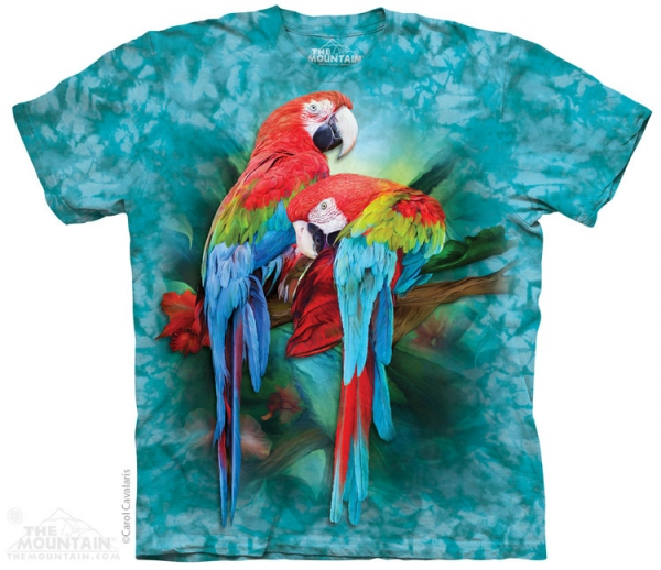 Macaw Mates  - T-shirt The Mountain
