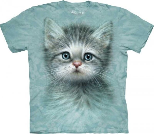 Blue Eyed Kitten - T-shirt The Mountain