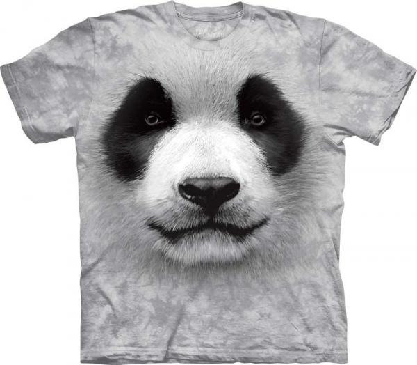 Big Face Panda - T-shirt The Mountain