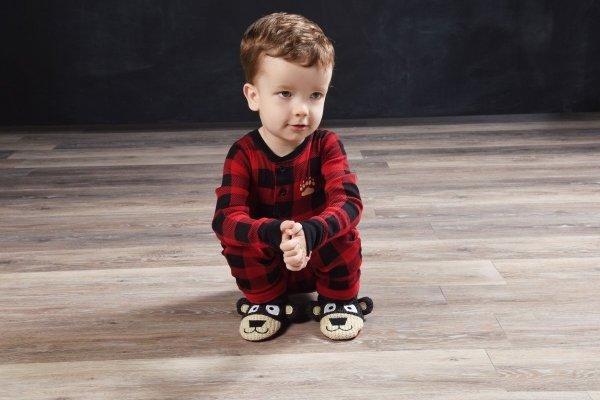 Bear Cheeks Flapjack - Dziecięca Piżama Pajac - LazyOne