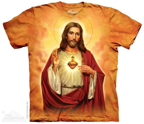 Sacred Heart - Jezus - The Mountain