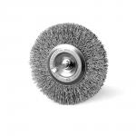 Szczotka tarczowa FI 100 trzpień stalowa (010-ASA)