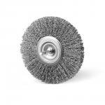 Szczotka tarczowa FI 140 trzpień stalowa (015-ASA)