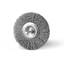 Szczotka tarczowa FI 110 trzpień stalowa (011-ASA)