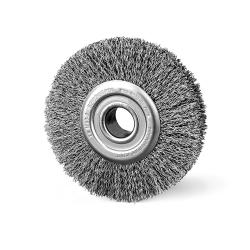 Szczotka tarczowa FI 120 otwór fi 22 stalowa (013-BSA)