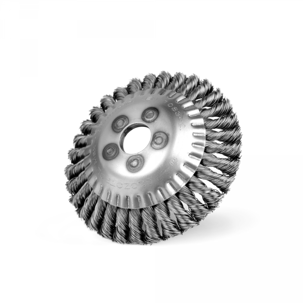 Szczotka do kos-mała otwór Ø 25,4 drut splatany (018-GKSI)