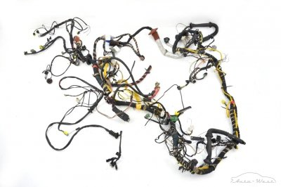 Ferrari 360 Modena Spider F131 Interior LHD cables wiring loom harness passenger compartment