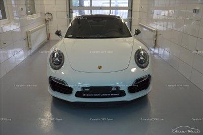 Porsche 911 991 Turbo S Rear bumper carbon diffuser splitter spoiler