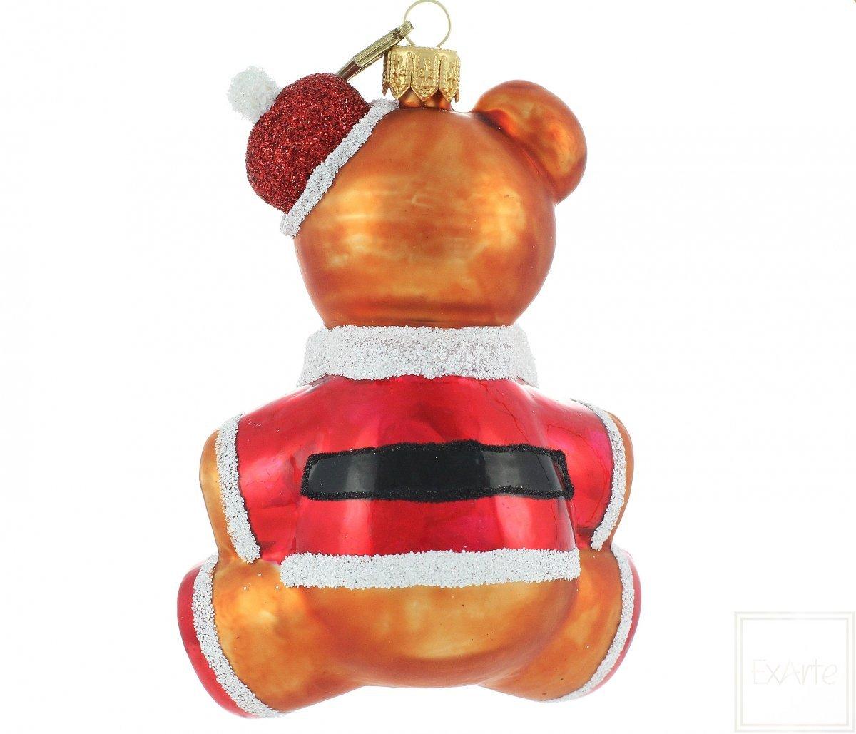 Christbaumkugel teddyb r nikolaus 12cm exarte - Christbaumkugel englisch ...