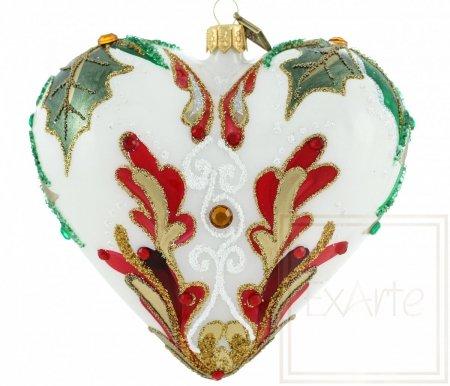 Herz 12cm – Weihnachtsfreude