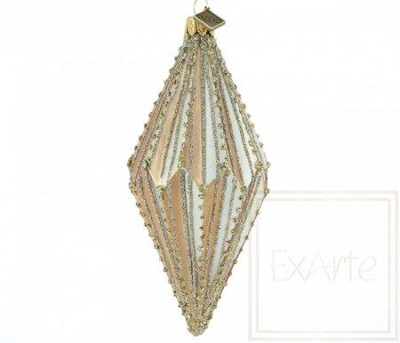 Diamant 13cm - Goldbändchen