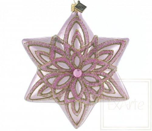 Stern 12 cm - Rose des Lichts