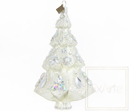 Christbaum 15cm - Silberkönigin