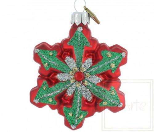 Schneeflocke 7cm – Heiligabend-Schneeflocke