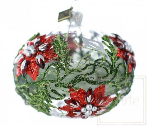Ellipse 9 cm - Weihnachtssterne