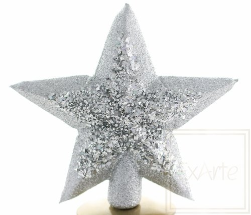 Stern 22cm – Silberglanz