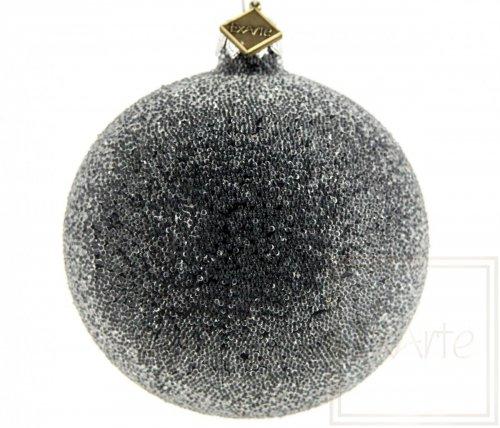 Kula 8cm - Perlisty Szron na czerni