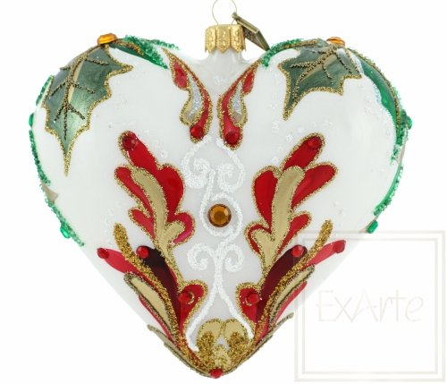 Serce 12cm - Radość świąt