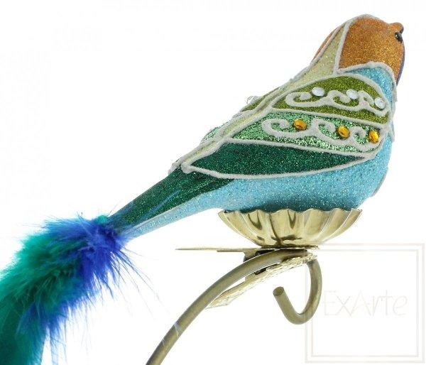 Blauer Vogel - 9cm