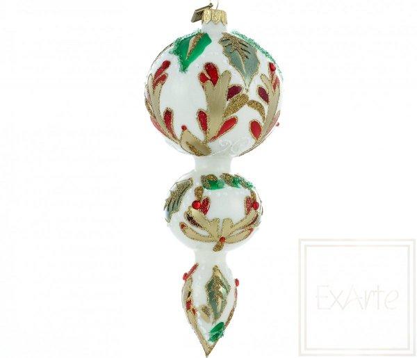 dekoracyjna bombka świąteczna