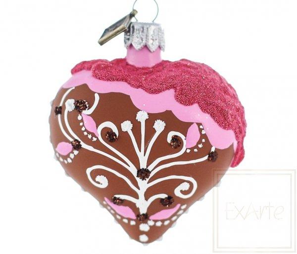 Herz 5 cm - Lebkuchen