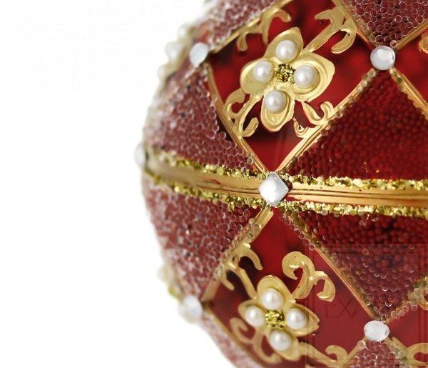 Kugel 10 cm -  Perlen-Chic