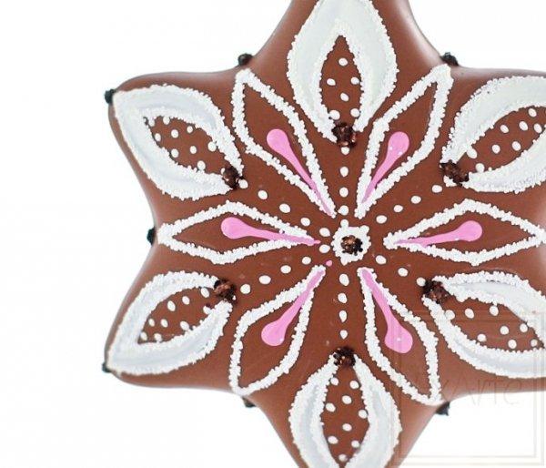 Stern 5 cm - Lebkuchen