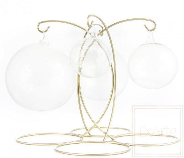 bombki szklane przezroczyste kule / Ball von 12 cm - Weihnachtskugeln