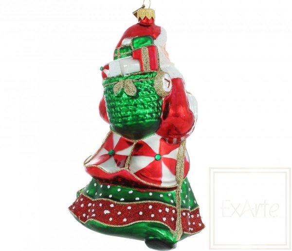 Klassische Weihnachtsbaumkugeln Nikolaus back2