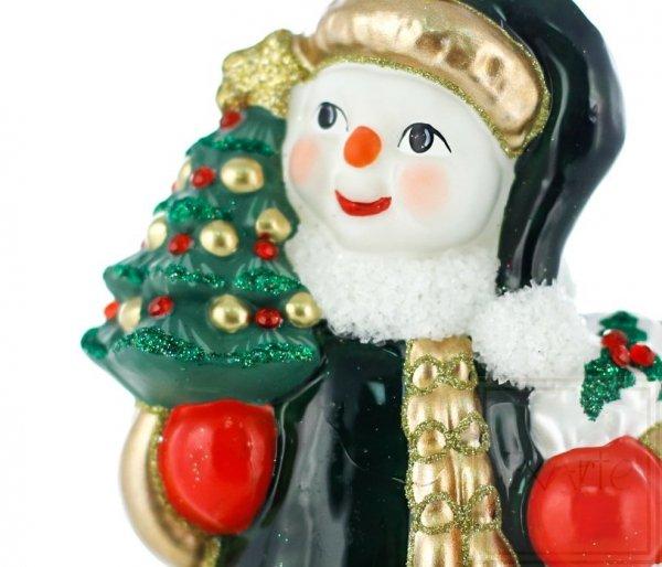 bombki świąteczne figurki bałwanków
