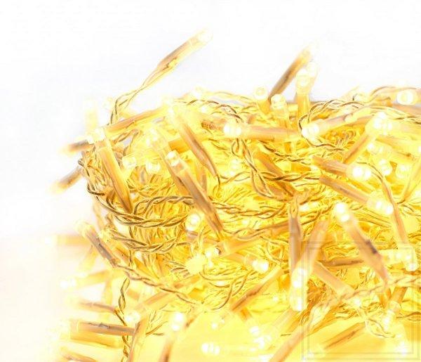 Lampki choinkowe Girlanda / Swaglight - długość 1,6m,światło białe ciepłe