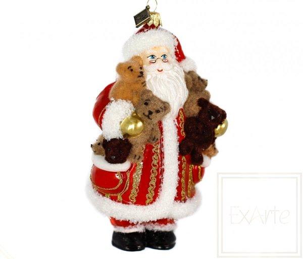 figurka mikołaja bombka bożonarodzeniowa