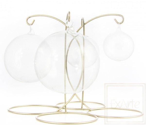 Bombka szklana kula transparentna, Ball von 12 cm - Weihnachtskugeln
