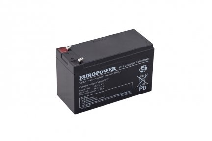 Akumulator 7Ah/12V EUROPOWER
