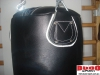 Worek bokserski skóra licowa, czarny