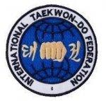 Naszywka - Logo ITF