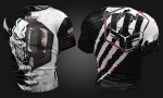 Koszulka treningowa MFC DARK SIDE BLACK SCRATCH