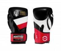 Rękawice bokserskie RBT-MFE-PL -skóra naturalna
