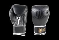 Rękawice bokserskie skórzane MASTERS RBT-BLACK 12 oz